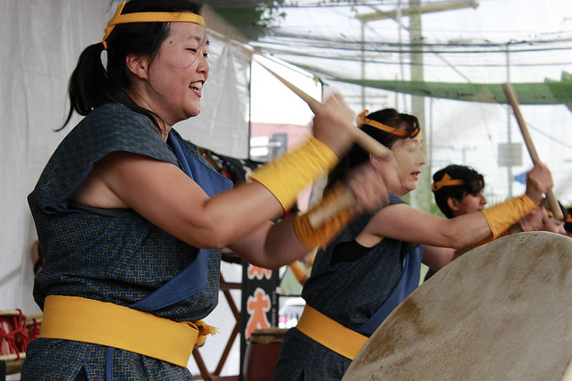 photos honoring the spirits at la�s obon festivals � for