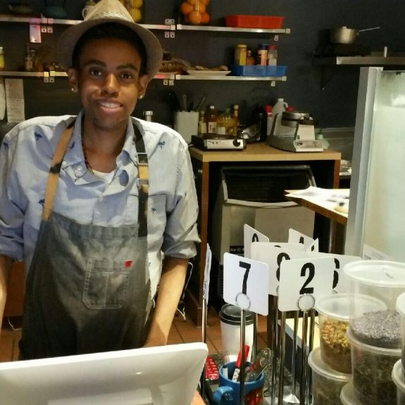 What is the maximum working hours for a cafe worker?