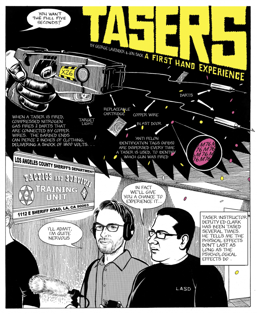 """Tasers: A First Hand Experience"" By George Lavender and Jon Sack"
