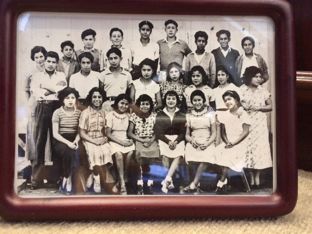 1936 class picture from the Mexican School in Placentia, Calif.