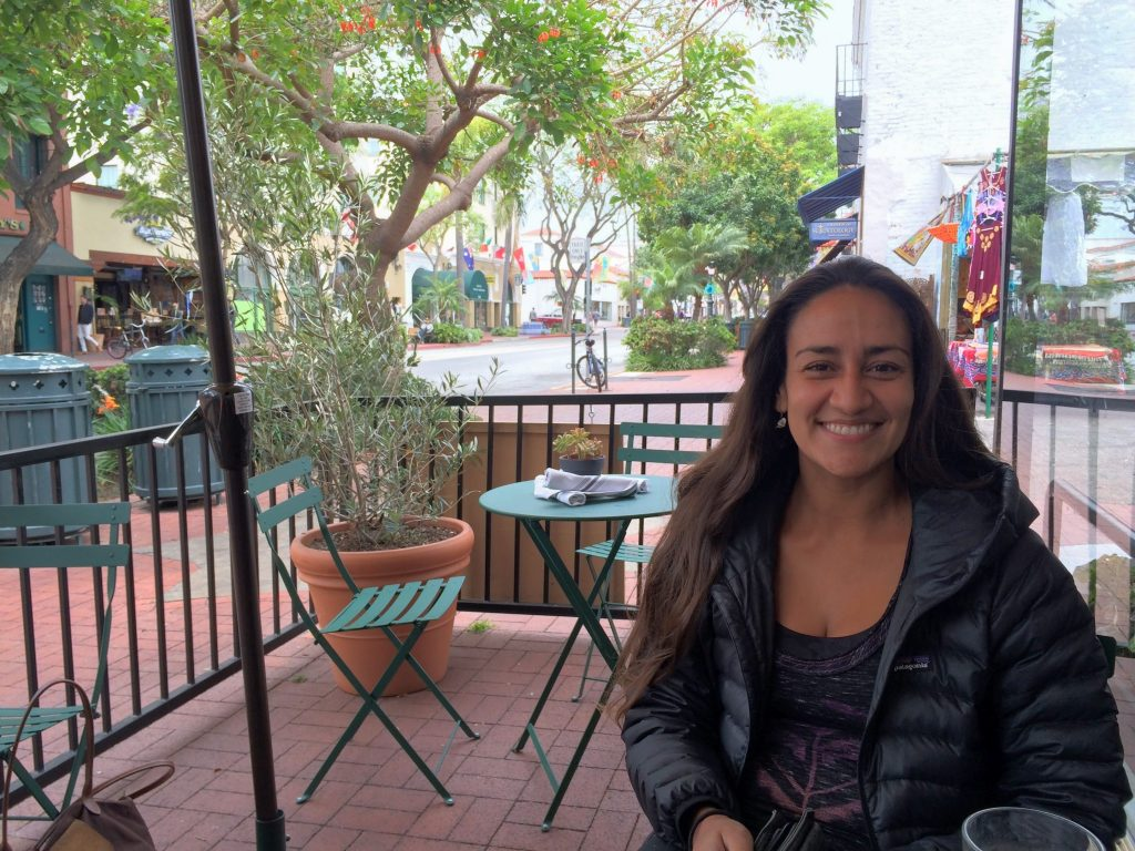 """Cassie Huerta works at two restaurants and shares a 2-bedroom apartment with three people. """"Tips are my paycheck. Raising the minimum wage wouldn't help me much, since all of my bills are paid through tips."""""""