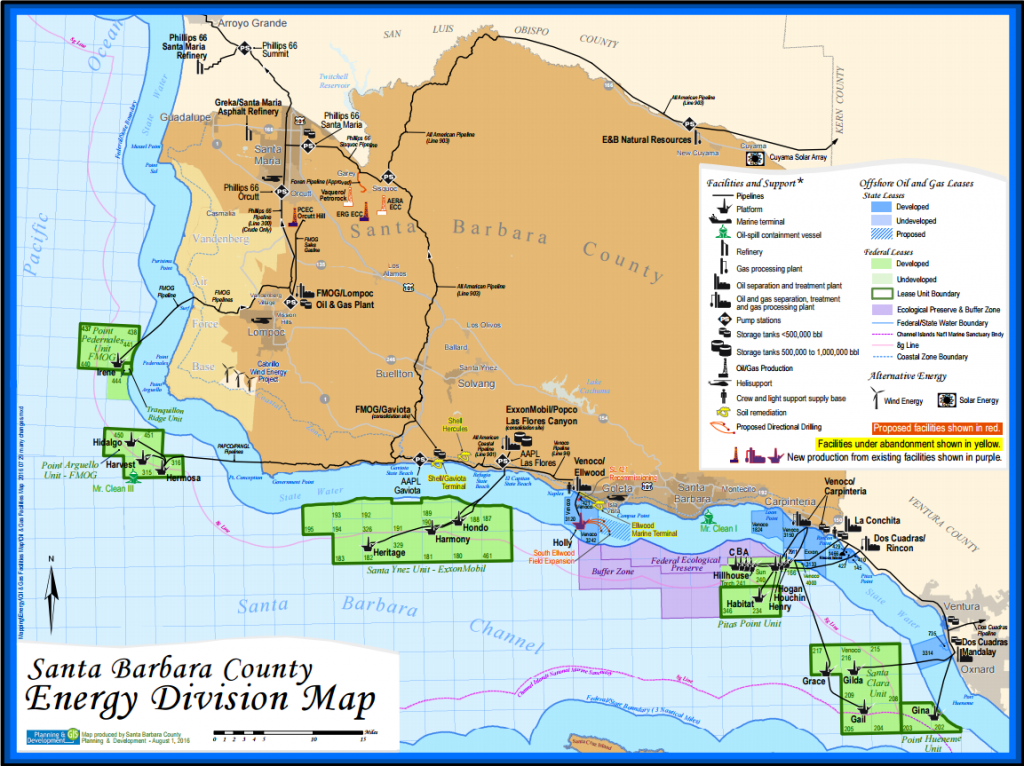 Energy Division Map Santa Barbara