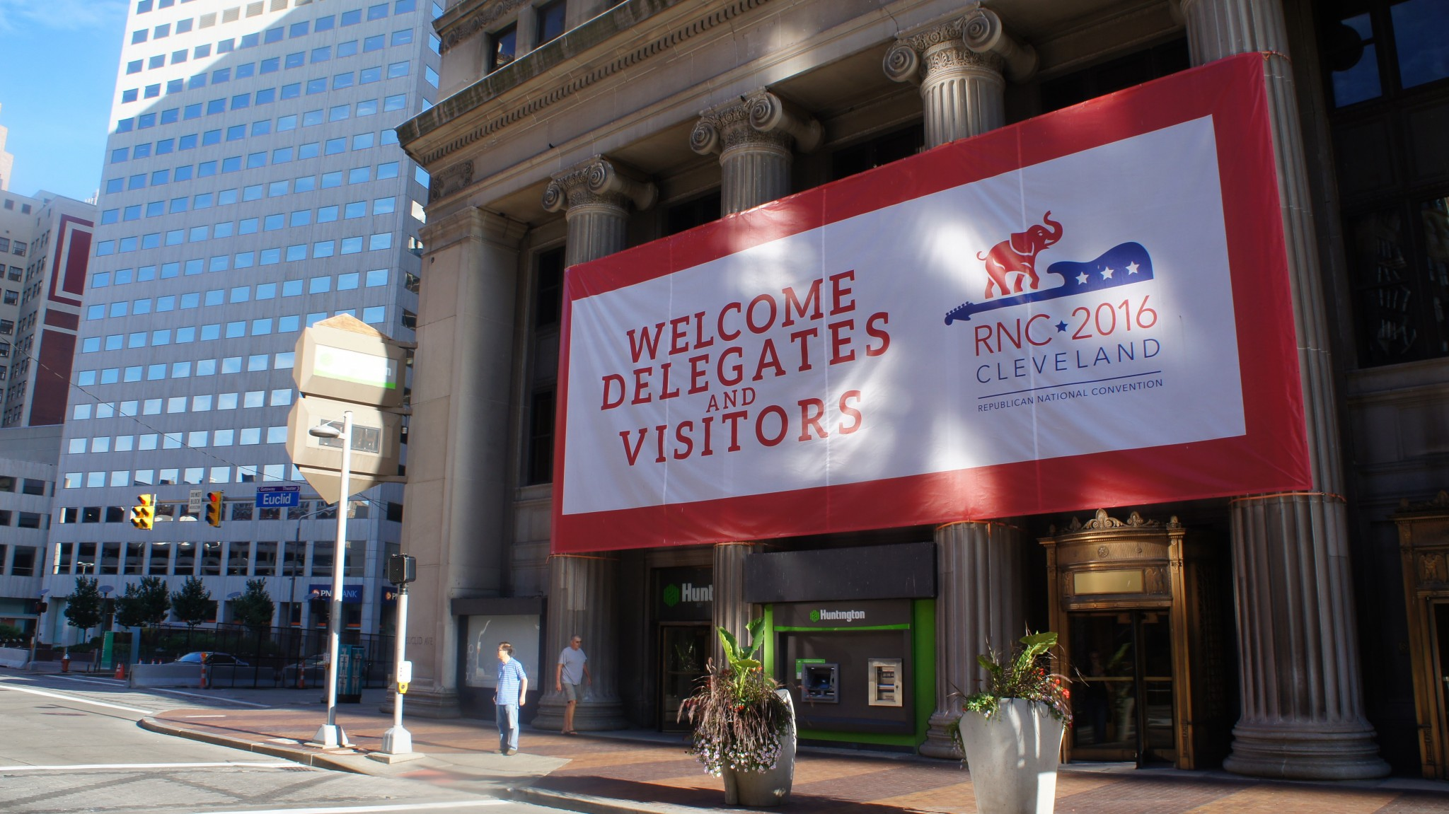 Welcome to Cleveland. The RNC begins July 18, 2016