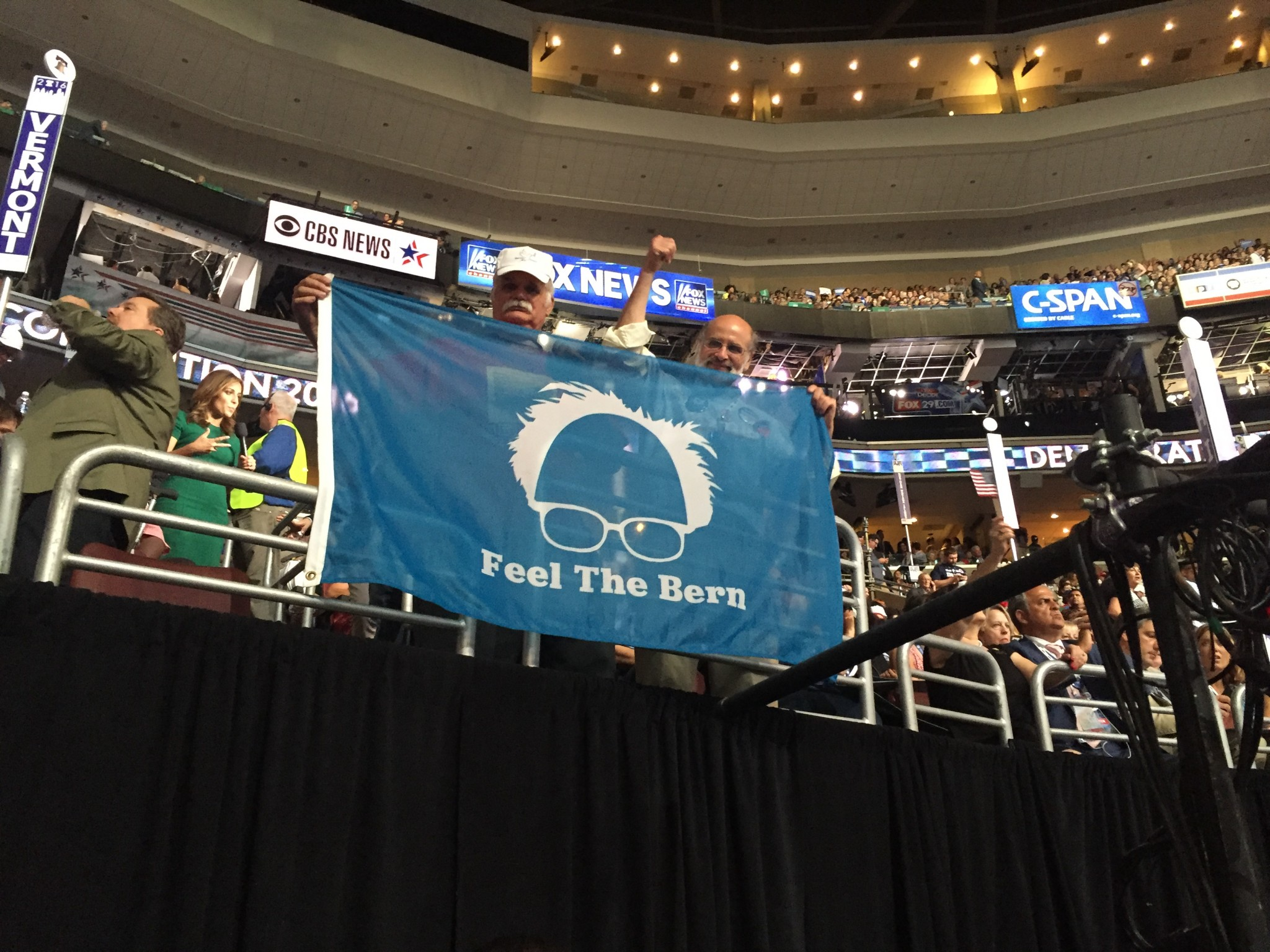 Listen to what Bernie Sanders told the California delegation at the DNC