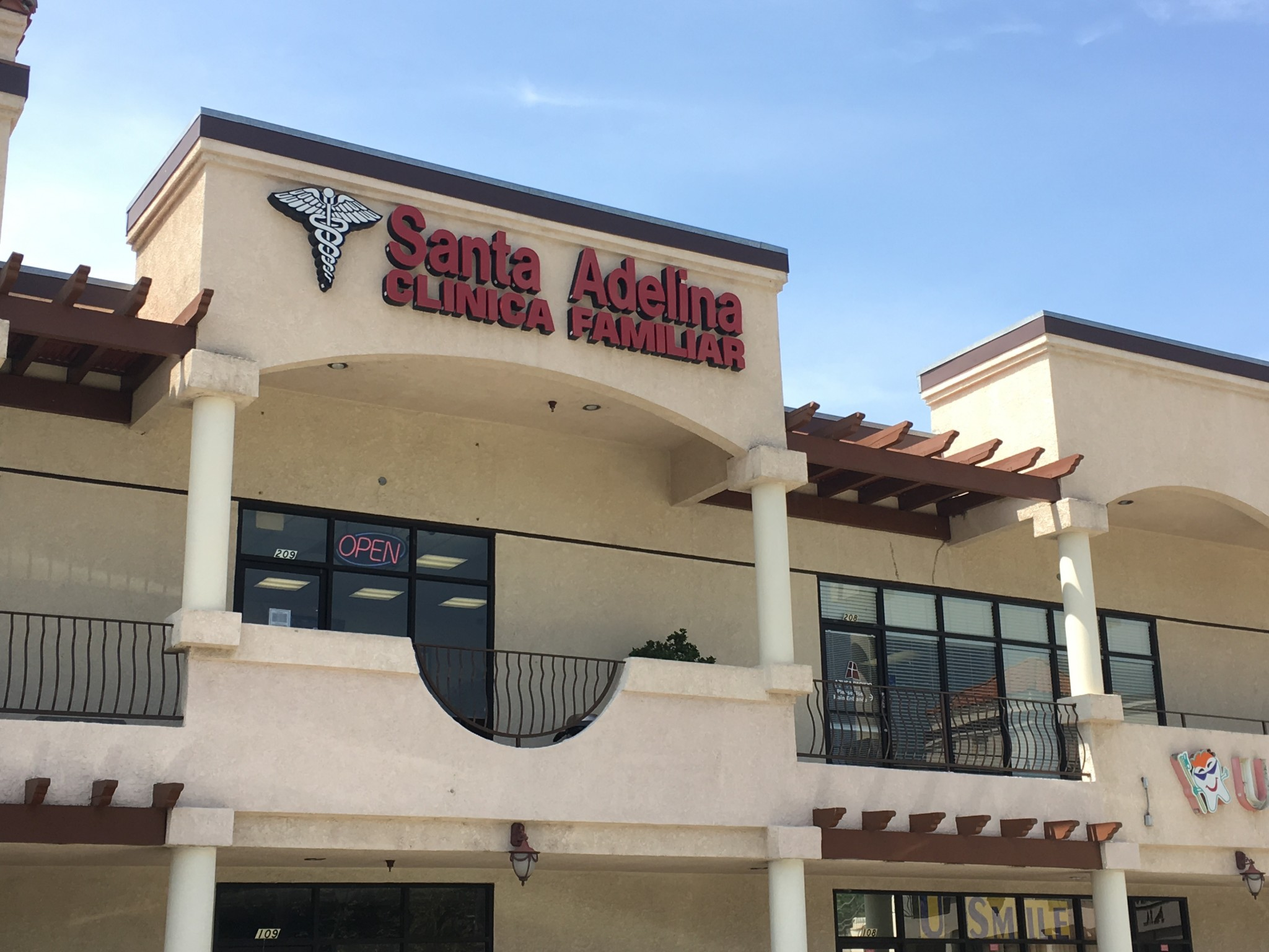 The Santa Adelina clinic where Velazquez works. (Photo: Karen Foshay)