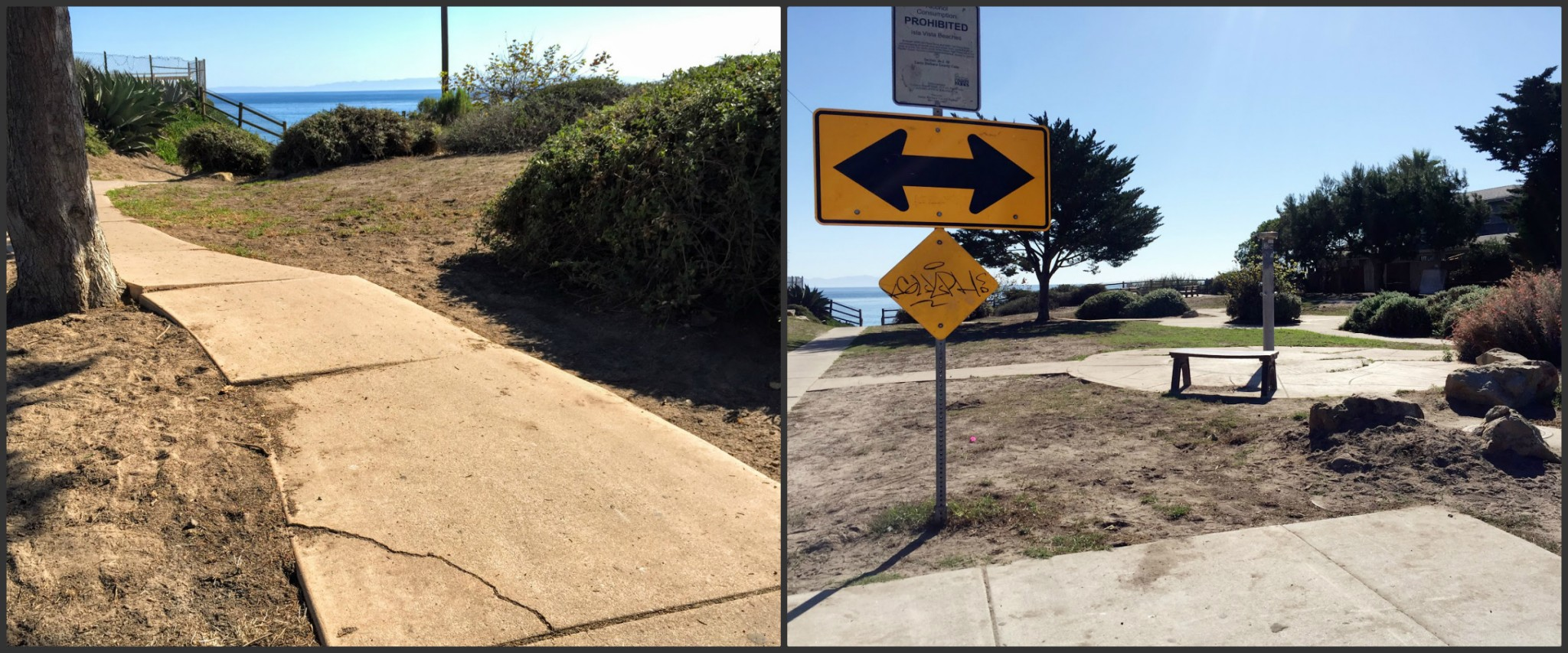 A community services district would fix sidewalks and clean graffiti. (Keon Zemoudeh)