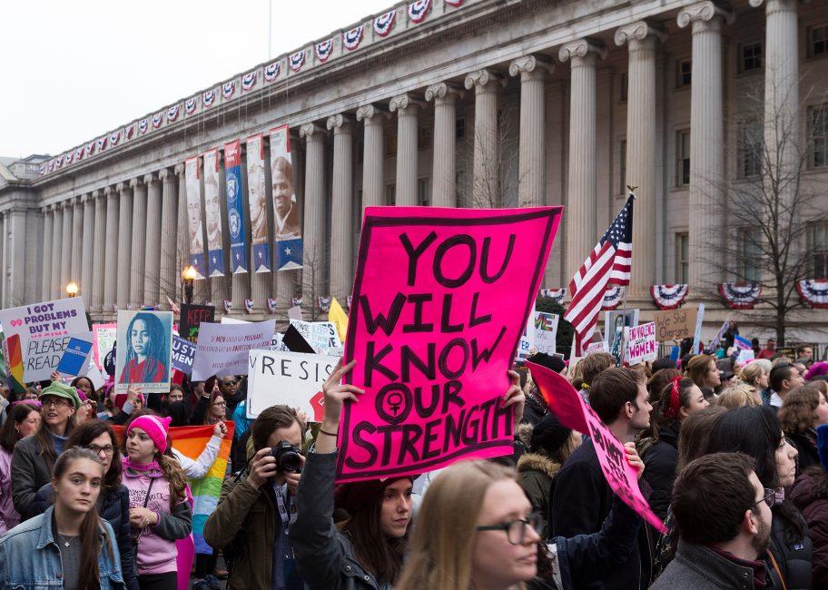 California represents at the March on Washington