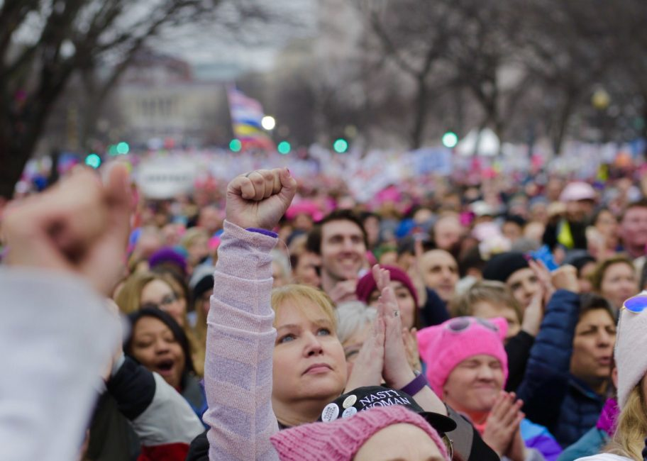 Women's March on Washington and LA: 'We're in this together'