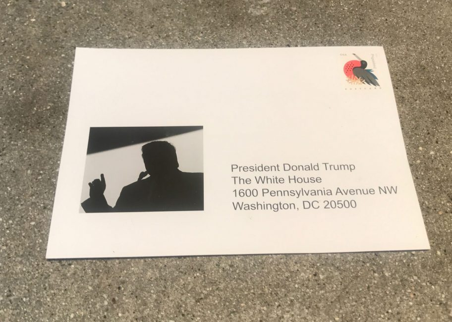 A postcard to the president