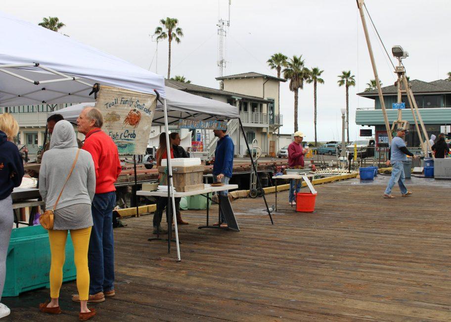 A resurgence at the Saturday fisherman's market