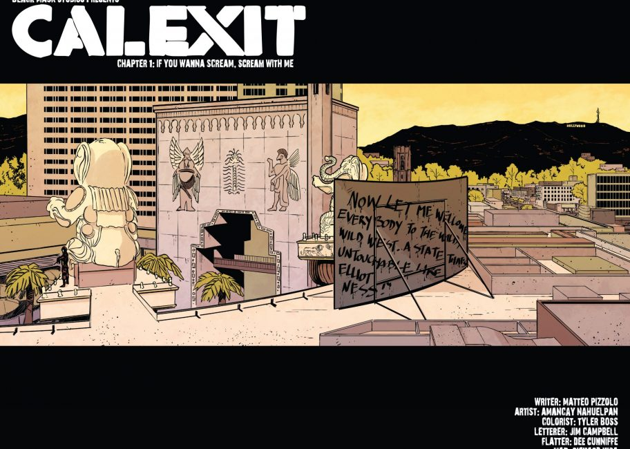 'Calexit' comic imagines dystopian vision of an independent California
