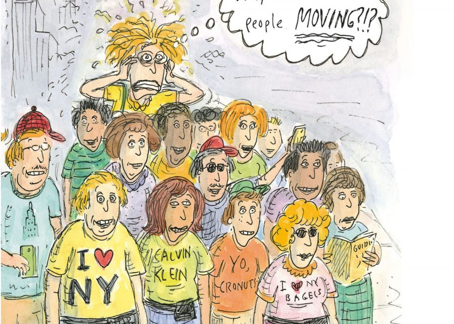 Cartoonist Roz Chast on Manhattan: 'I feel more alive when I'm there'