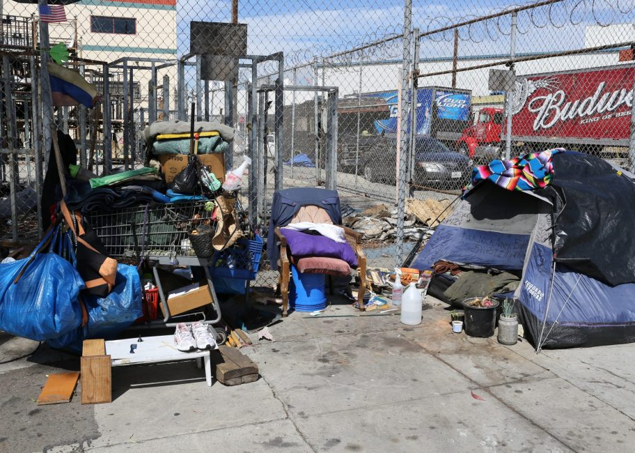Meth use is on the rise on Skid Row