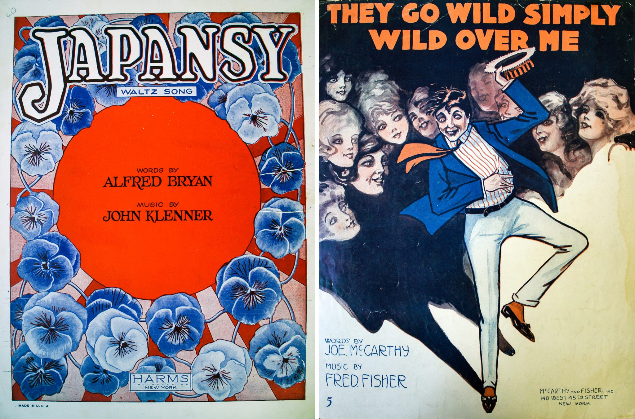 Sheet music cover, Pansy Craze era. Courtesy of ONE National Gay and Lesbian Archive
