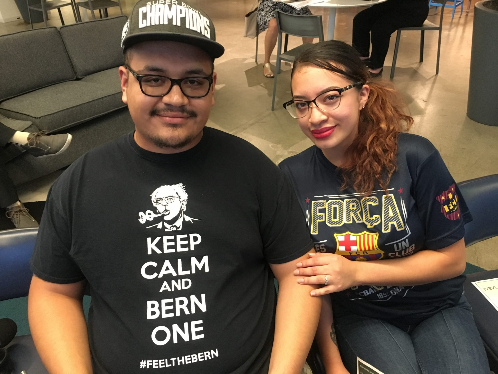 Bryan Garcia and his fiancé, Valeria Melgar, are hoping to apply for a cannabis license through the social equity program. Garcia was arrested at the age of 19 for possession with intent to sell, and is now hoping to enter the market legally.