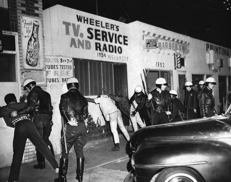 What are your reflections on the Watts Riots, 50 years later?