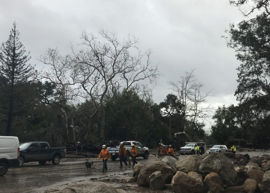 Rescue operations continue in Montecito