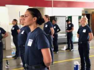 Endurance, grit and a lot of pull-ups: Inside LA's Women's Fire Prep Academy