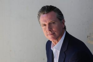 Calif. governor's race: Gavin Newsom interview