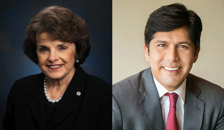 Watch live: A conversation with Dianne Feinstein and Kevin de León